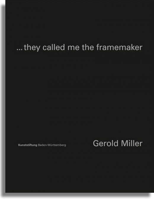 ...they called me the framemaker