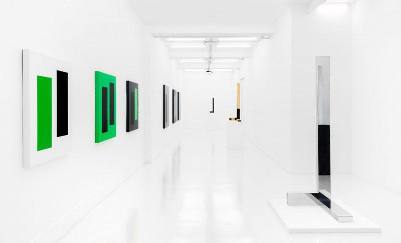 Ausstellungsansicht, Galería Casado Santapau, Madrid, 2018, Foto: Rafa Garcia